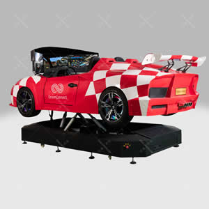 赛车跑车模拟器_六自由度全方位感受_4d动感座椅平台