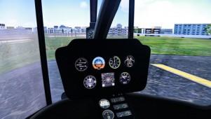 罗宾逊R22直升机模拟器驾驶视频