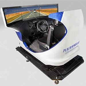 单座三屏汽车驾驶模拟器-真车改装汽车模拟器