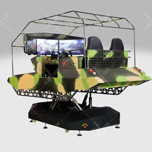 六自由度坦克模拟器