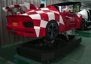 动感跑车模拟器视频
