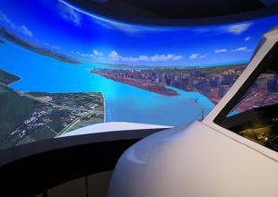 波音737飞行模拟器模拟飞行视频