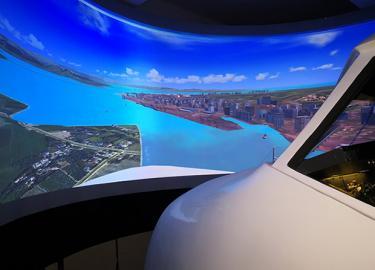 波音737模拟器模拟飞行视频