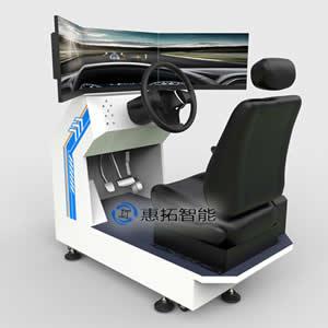 单座三屏VR汽车模拟器 VR安全驾驶,汽车安全驾驶模拟器