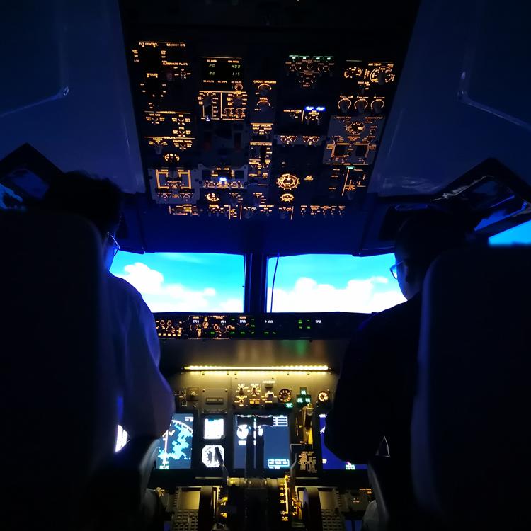 737模拟器面板