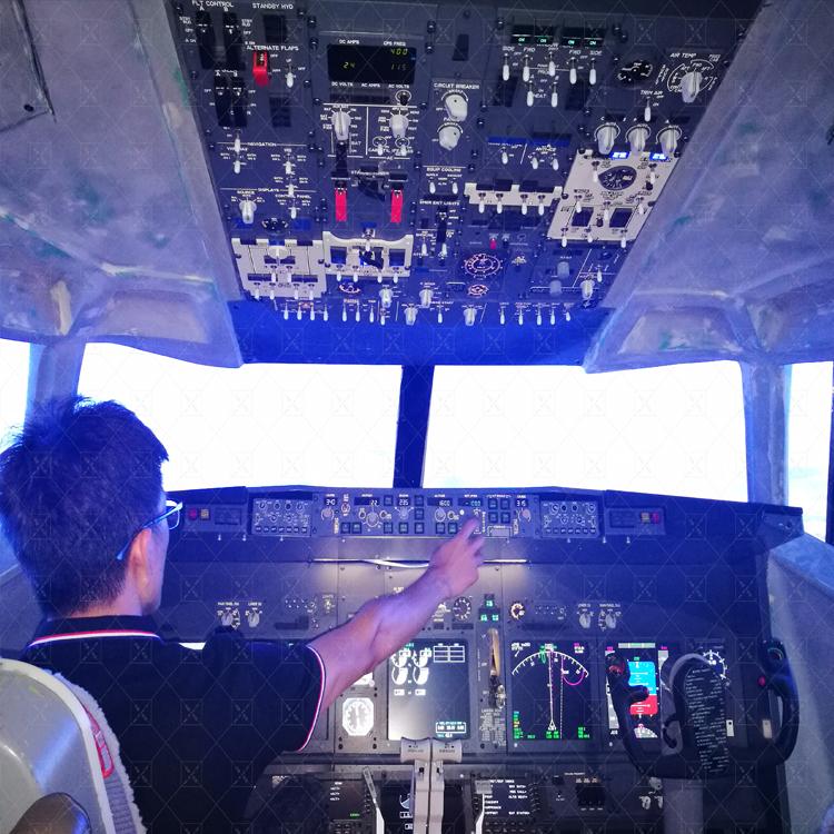 福建波音737模拟器定制价格大概150W