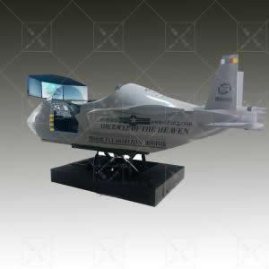 战斗机模拟器 F22 猛禽战斗机飞行模拟器
