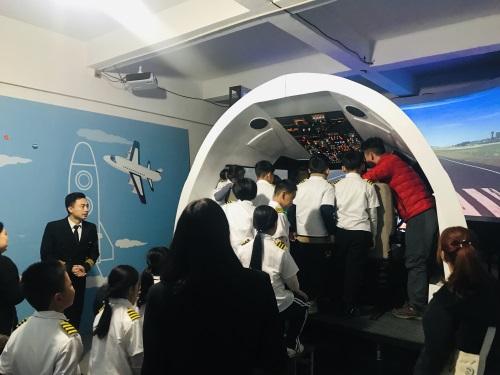 波音737模拟驾驶舱