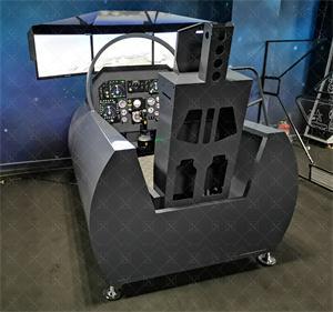 某型靓载机飞行模拟器