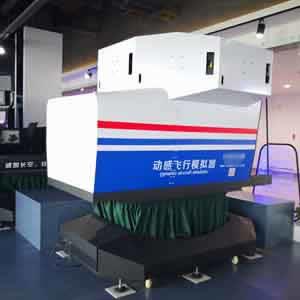 专业级塞斯纳模拟器-六自由度塞斯纳全仪表飞行模拟器