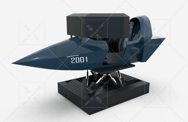 某型战斗机模拟器